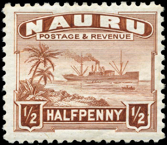 Postage Stamps And Postal History Of Nauru Wikipedia