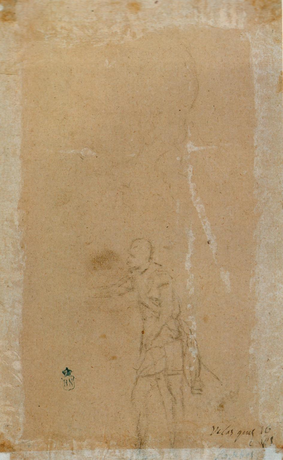 Study for Spínola in La rendición de Breda, by...