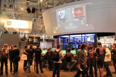 Crowd at a big LAN event