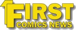English: First Comics News Logo