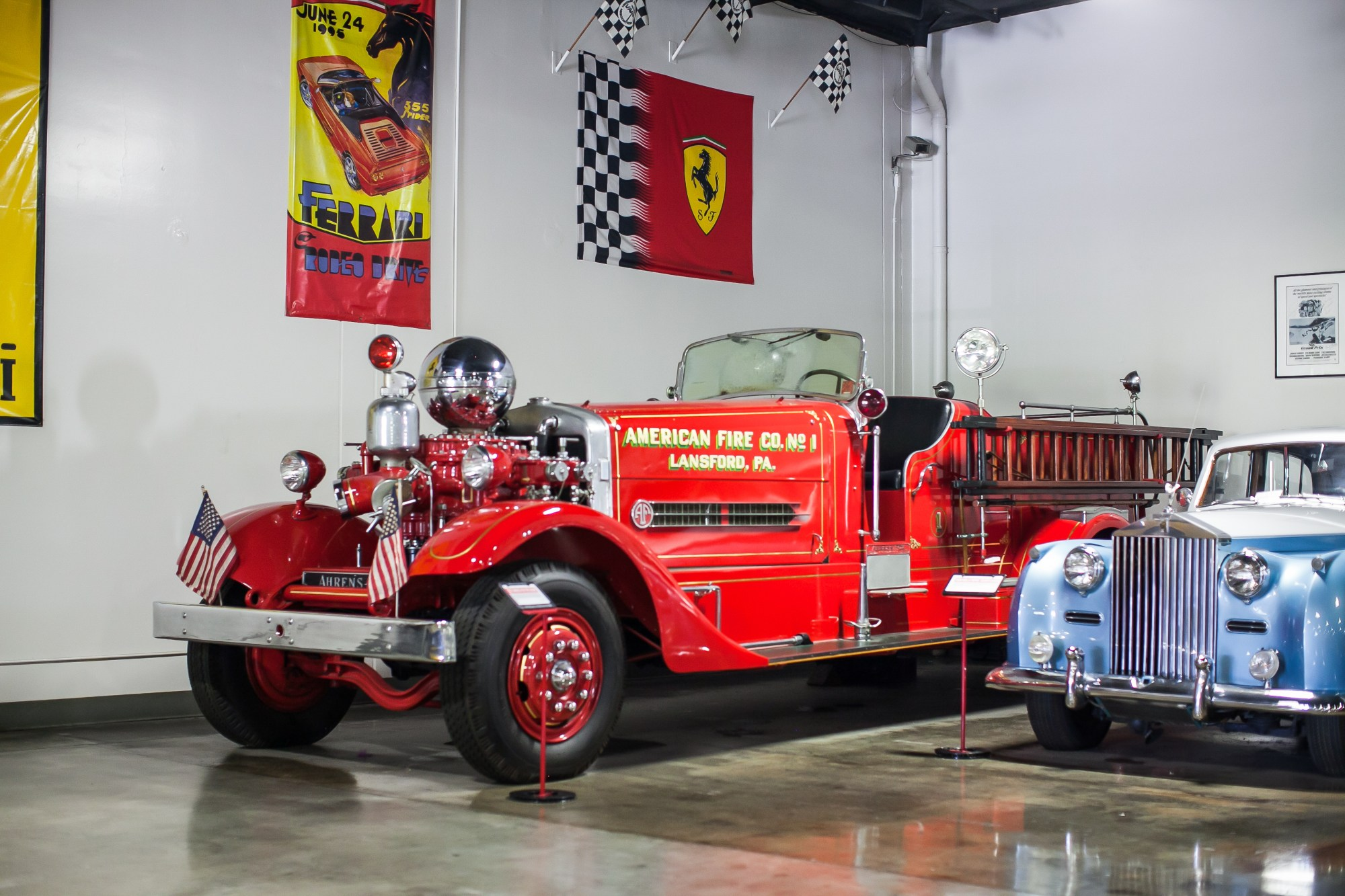 hight resolution of ahrens fox fire engine company