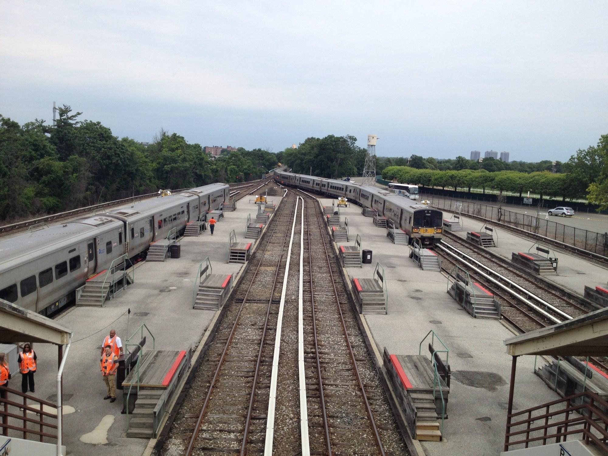 hight resolution of file belmont park lirr station overpass jpg