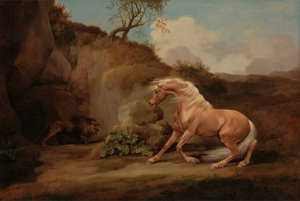 george stubbs lion attacking a horse