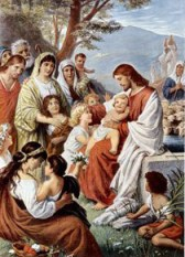 """The Painting entitled """"Jesus Blessing the..."""