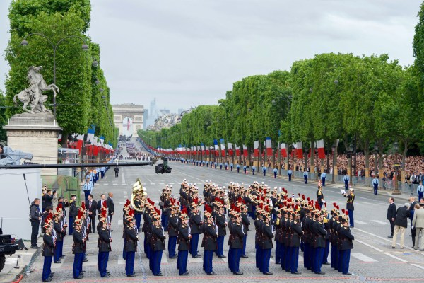 File Secretary Kerry Attends Bastille Day Festivities In