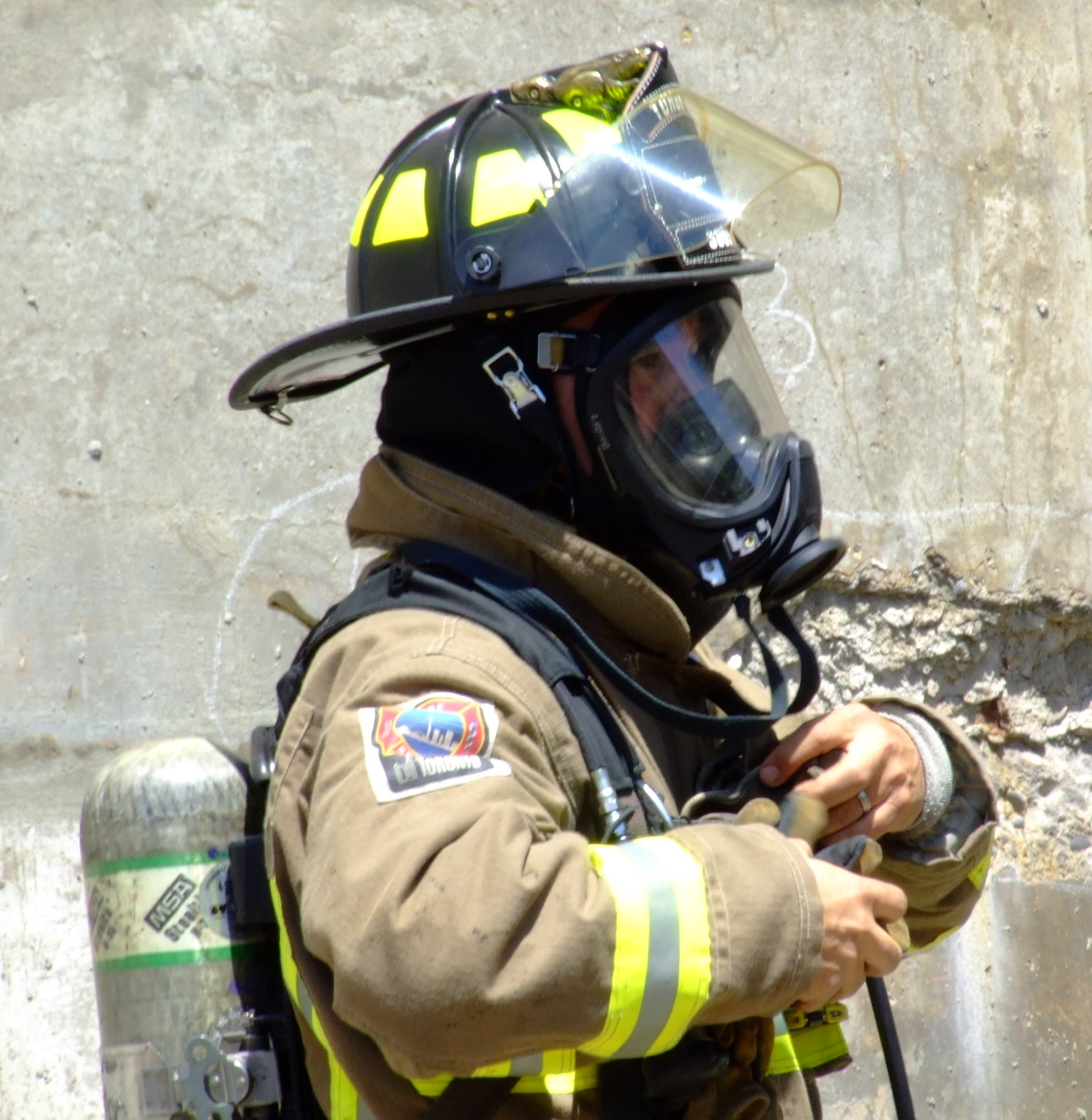 hight resolution of self contained breathing apparatus