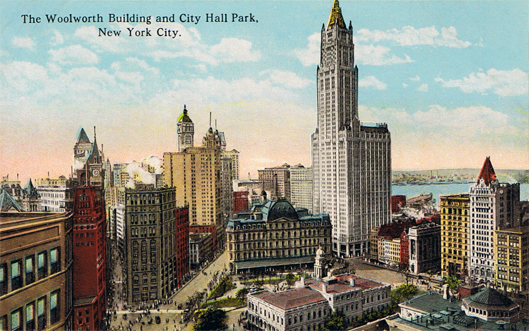 FileWoolworth Building And City Hall Park New York City