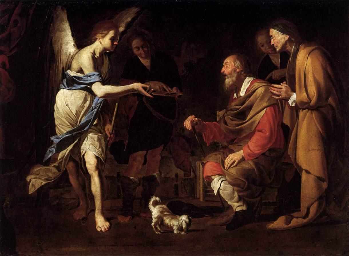 Tobia e l'Arcangelo Raffaele