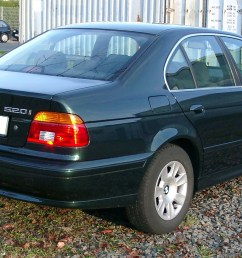 e39 sedan rear [ 1647 x 936 Pixel ]