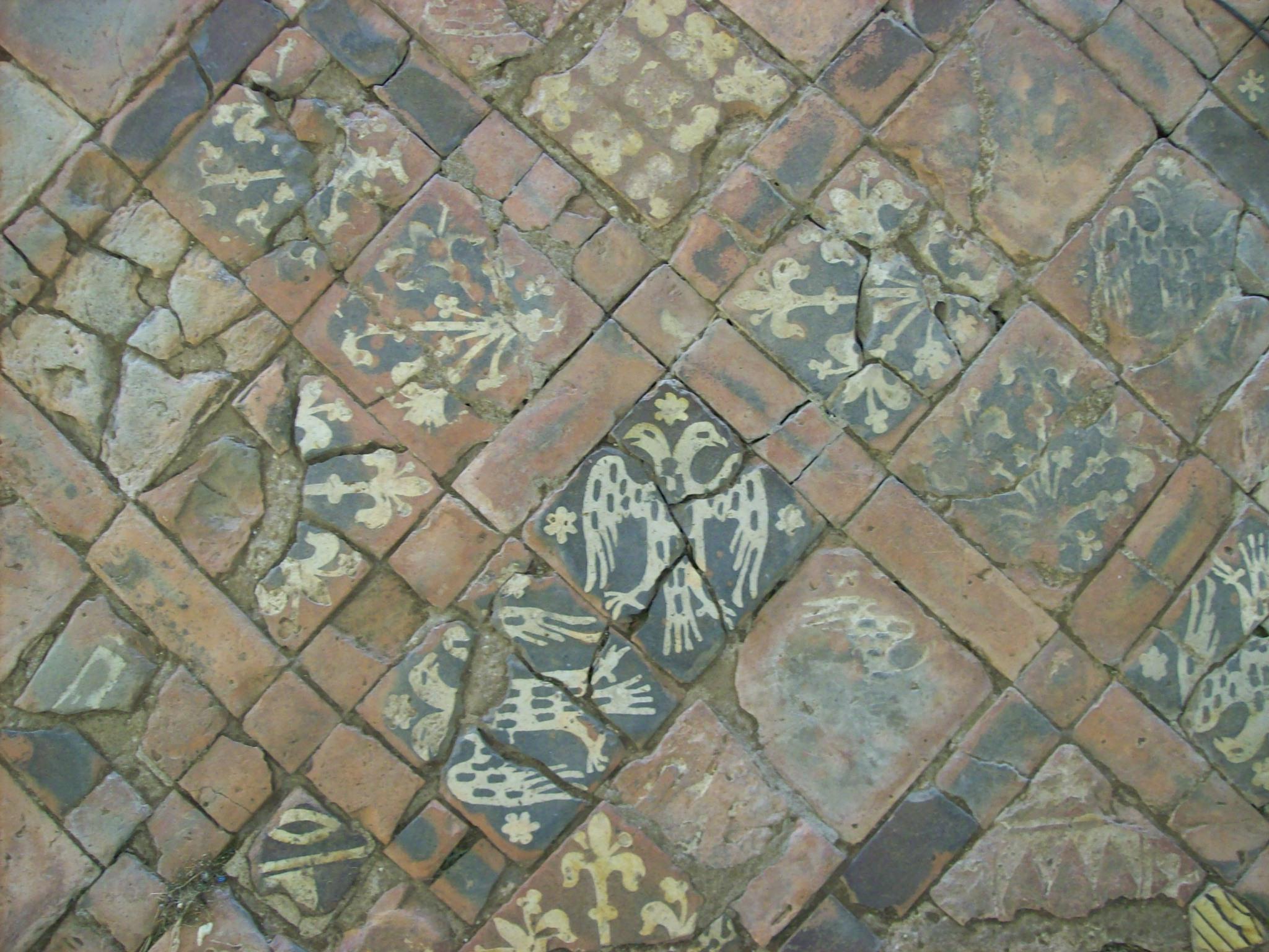 FileMedieval floor tiles Cleeve Abbeyjpg  Wikimedia