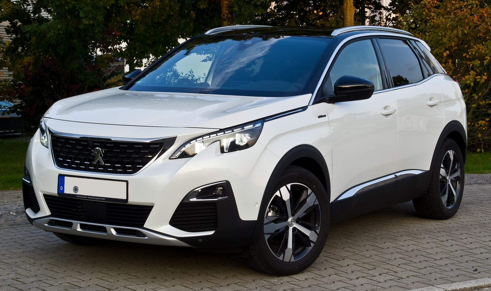 hight resolution of file peugeot 3008 thp 165 eat6 allure gt line ii frontansicht