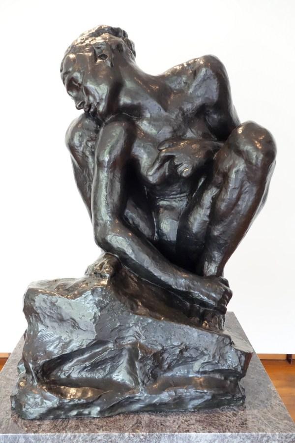 File Crouching Woman Auguste Rodin . 1882