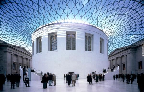 Matt And Laura Arrival In London British Museum
