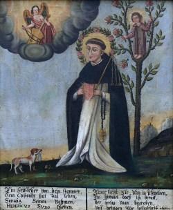 sveti Henrik Suso - duhovnik in redovnik