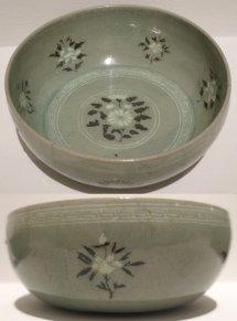 File Korean Bowl With Peony And Chrysanthemums Koryo