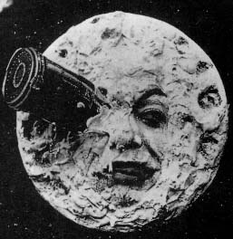 Screenshot from A Trip to the Moon (1902)