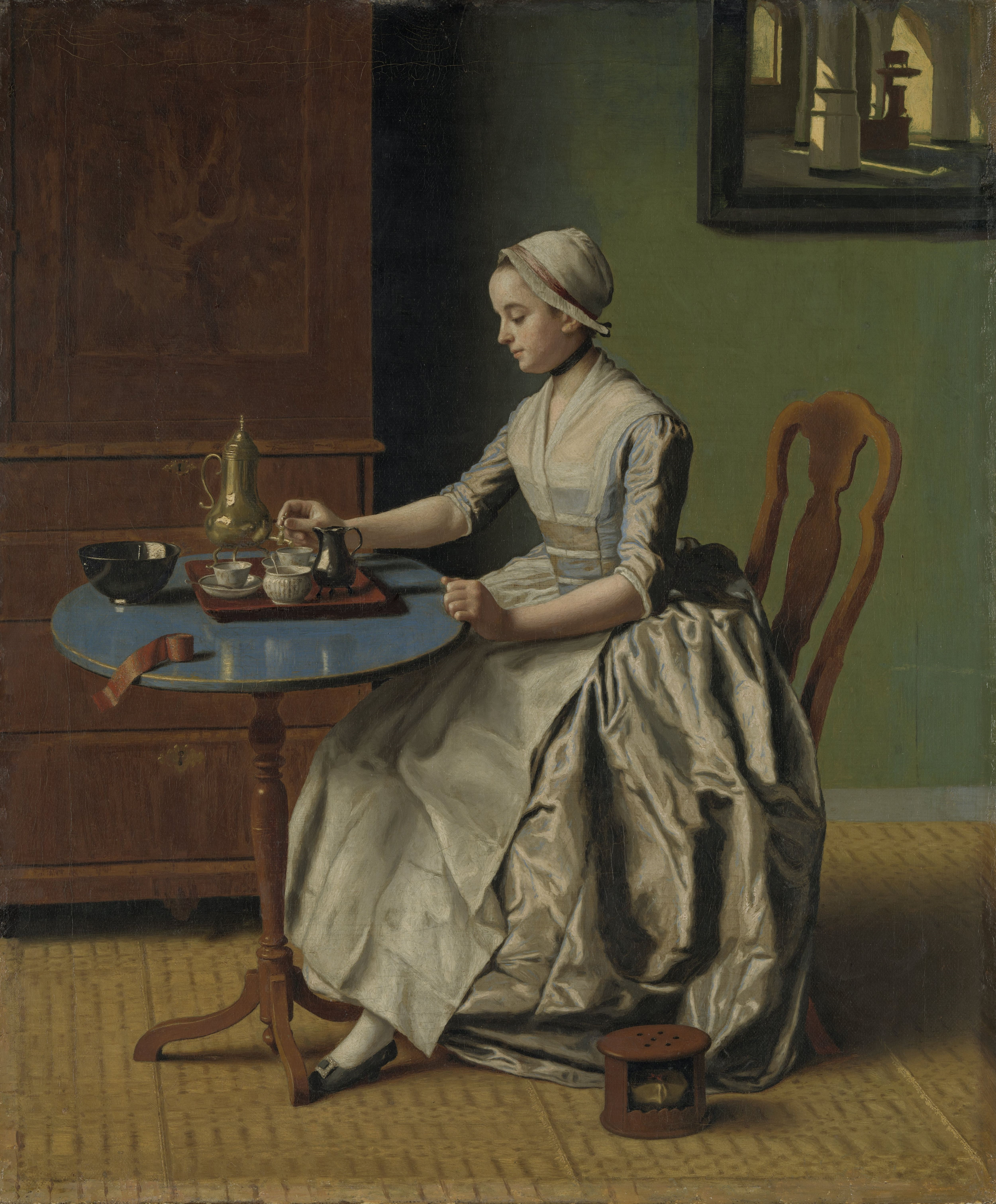 File:Liotard-Lady Pouring Chocolate.jpg