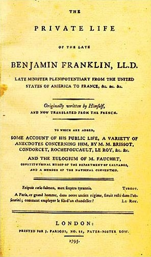 Cover of the first English edition of Benjamin...