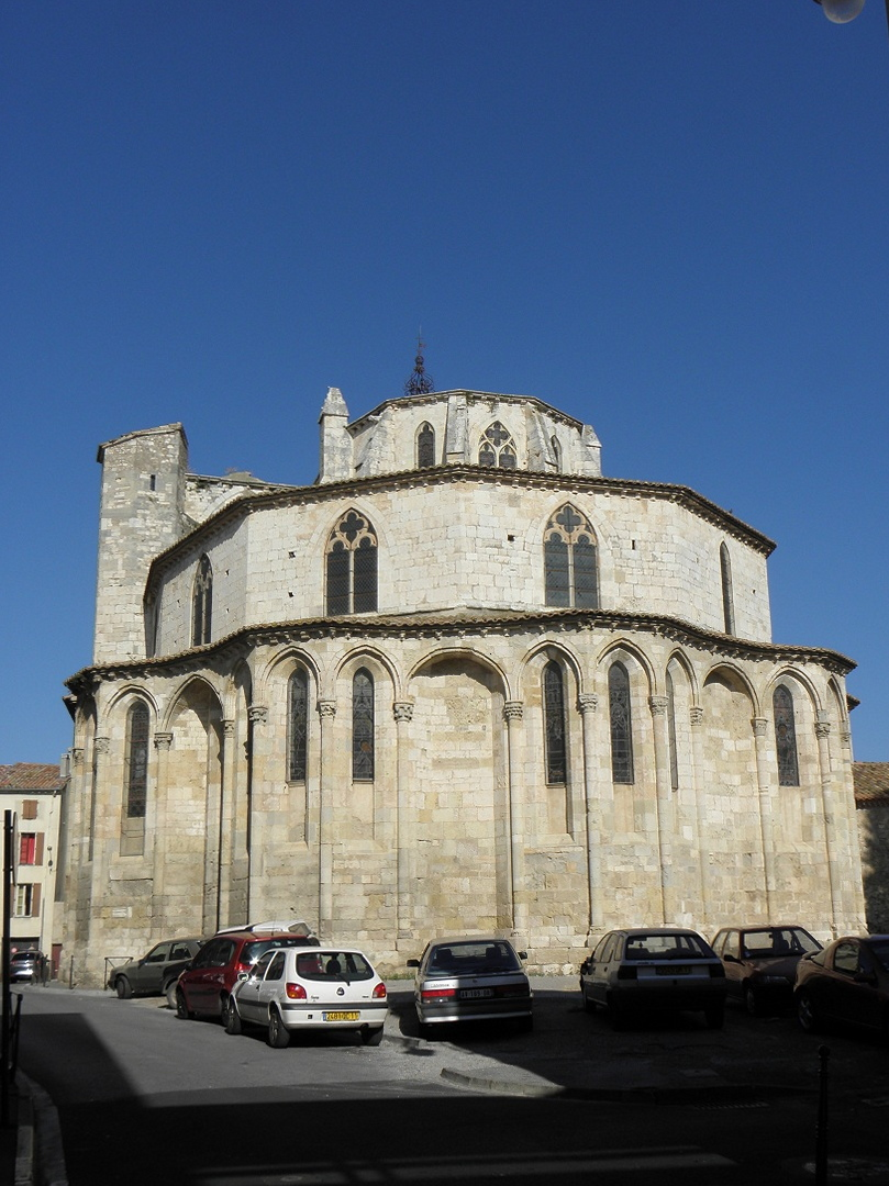 The church of Saint-Paul-Serge de Narbonne
