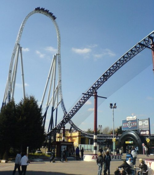 Roller Coaster at Thorpe Park