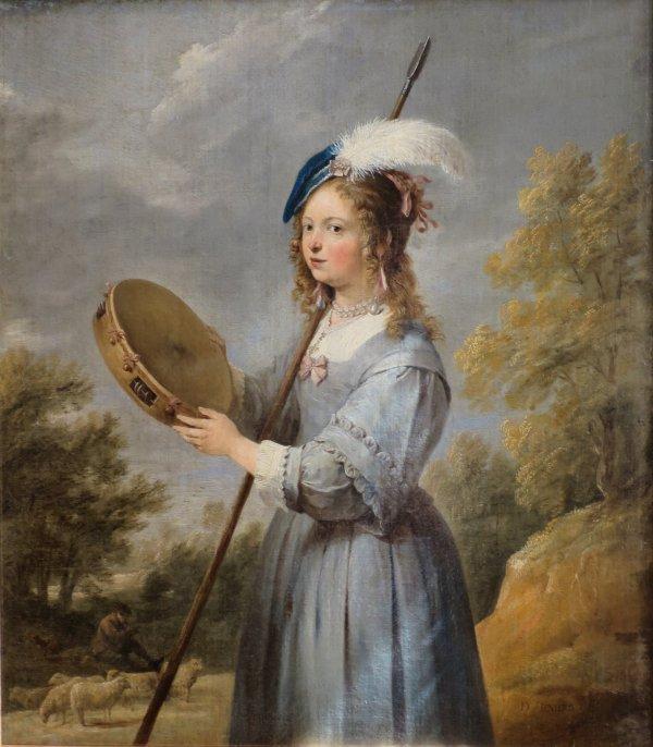 File 'shepherdess' David Teniers Younger