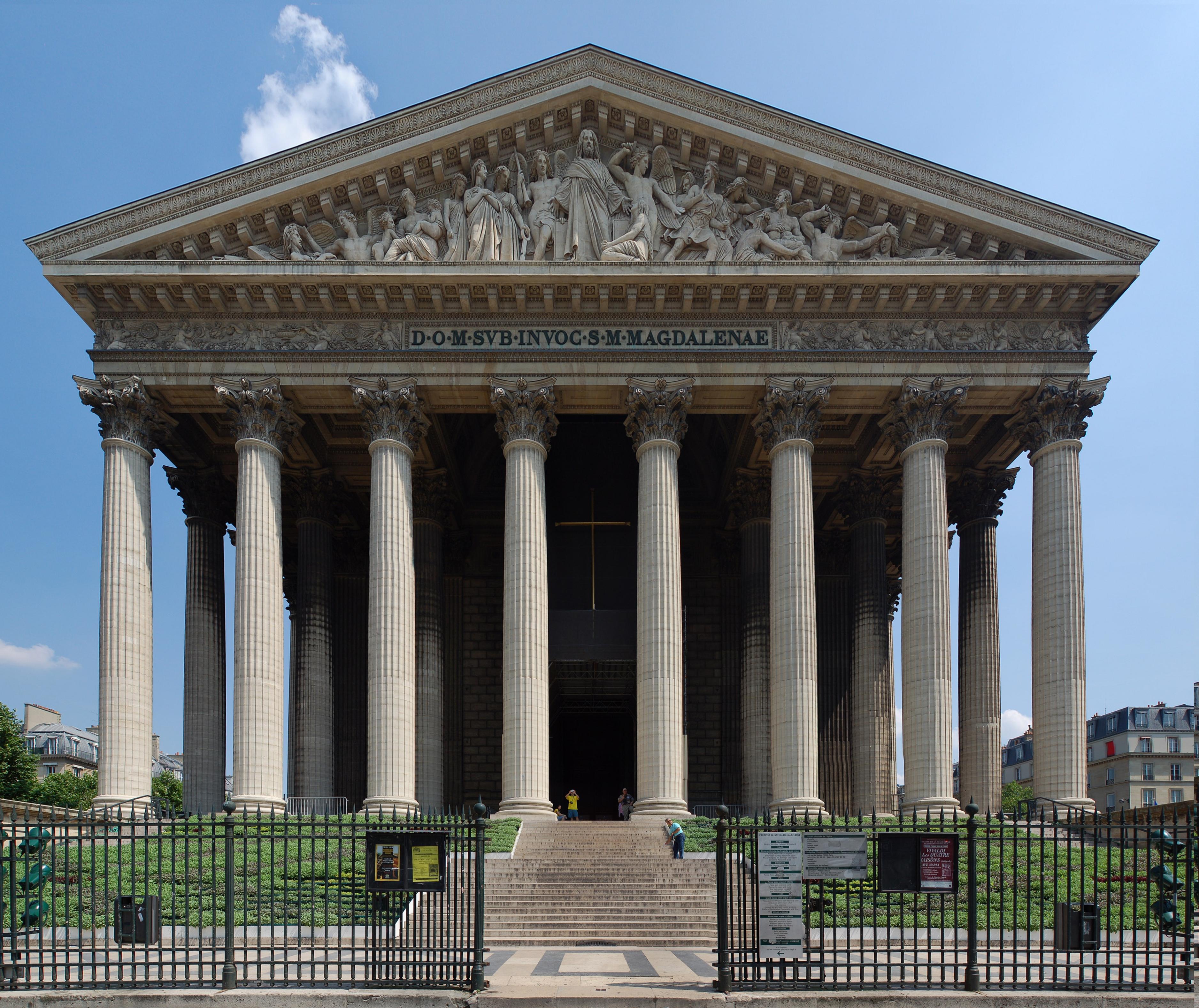 eglise de la madeleine in paris a temple to the glory of napoleon s grande armee
