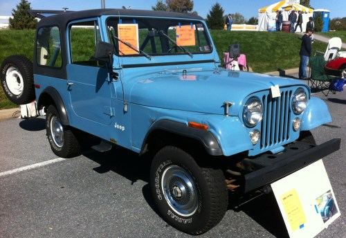 small resolution of file 1980 jeep cj 7 blue v8 automatic hershey 2012 jpg
