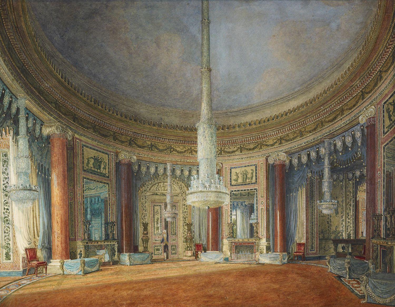 FileCarlton House Circular Room By Charles Wild 1817
