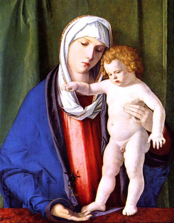 File Giovanni Bellini - Madonna Bambino