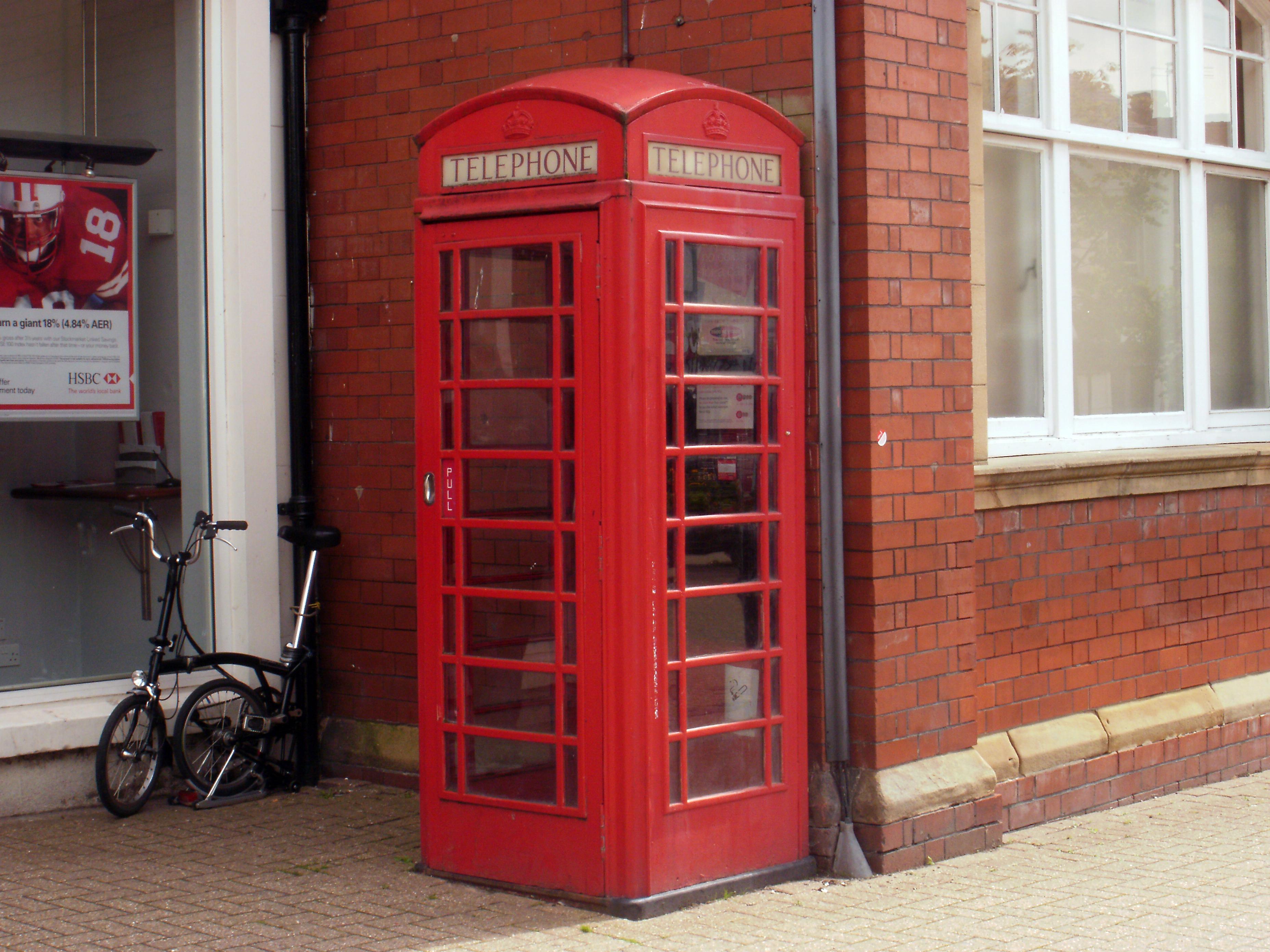 FileRed telephone box PoultonleFyldejpg  Wikimedia