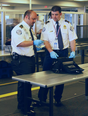 Screening Checkpoint at Boston Logan Internati...