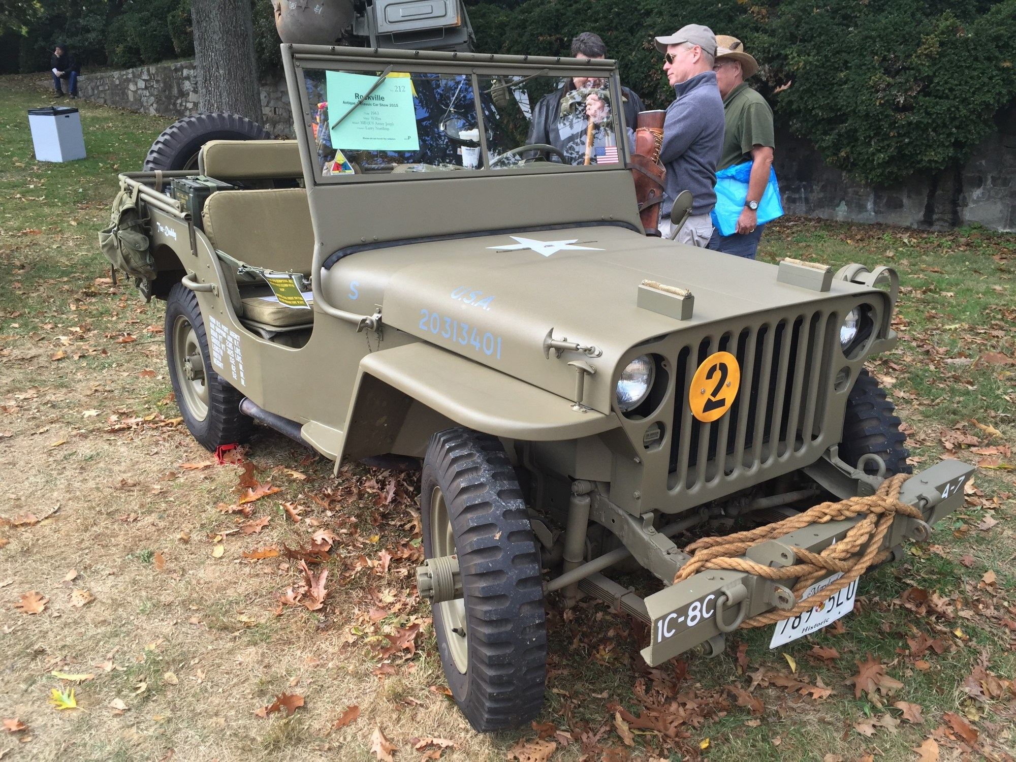 hight resolution of file 1943 willys mb us army jeep at 2015 rockville show 1of3 jpg