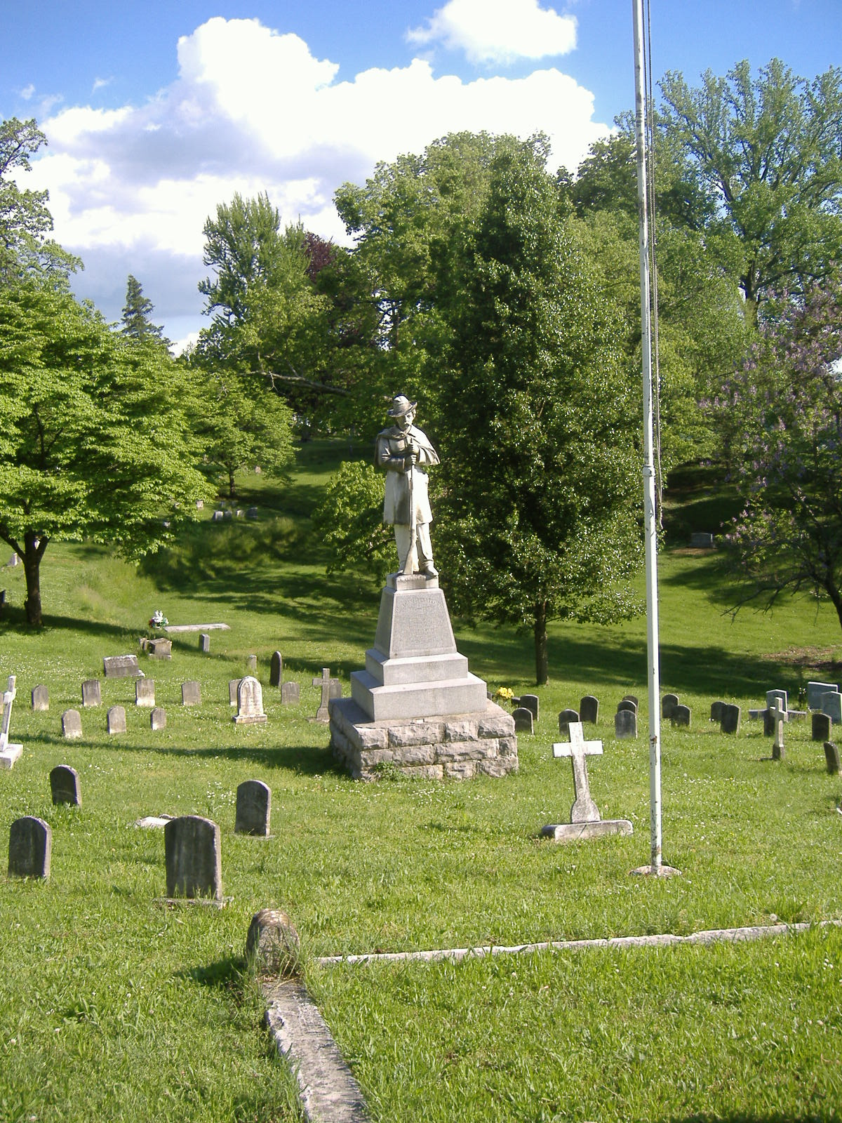 Confederate Monument in Frankfort  Wikipedia