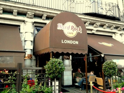 London's Hard Rock Café - at Tolfalas.com