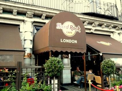 London's Hard Rock Café - at Tolfalas.com
