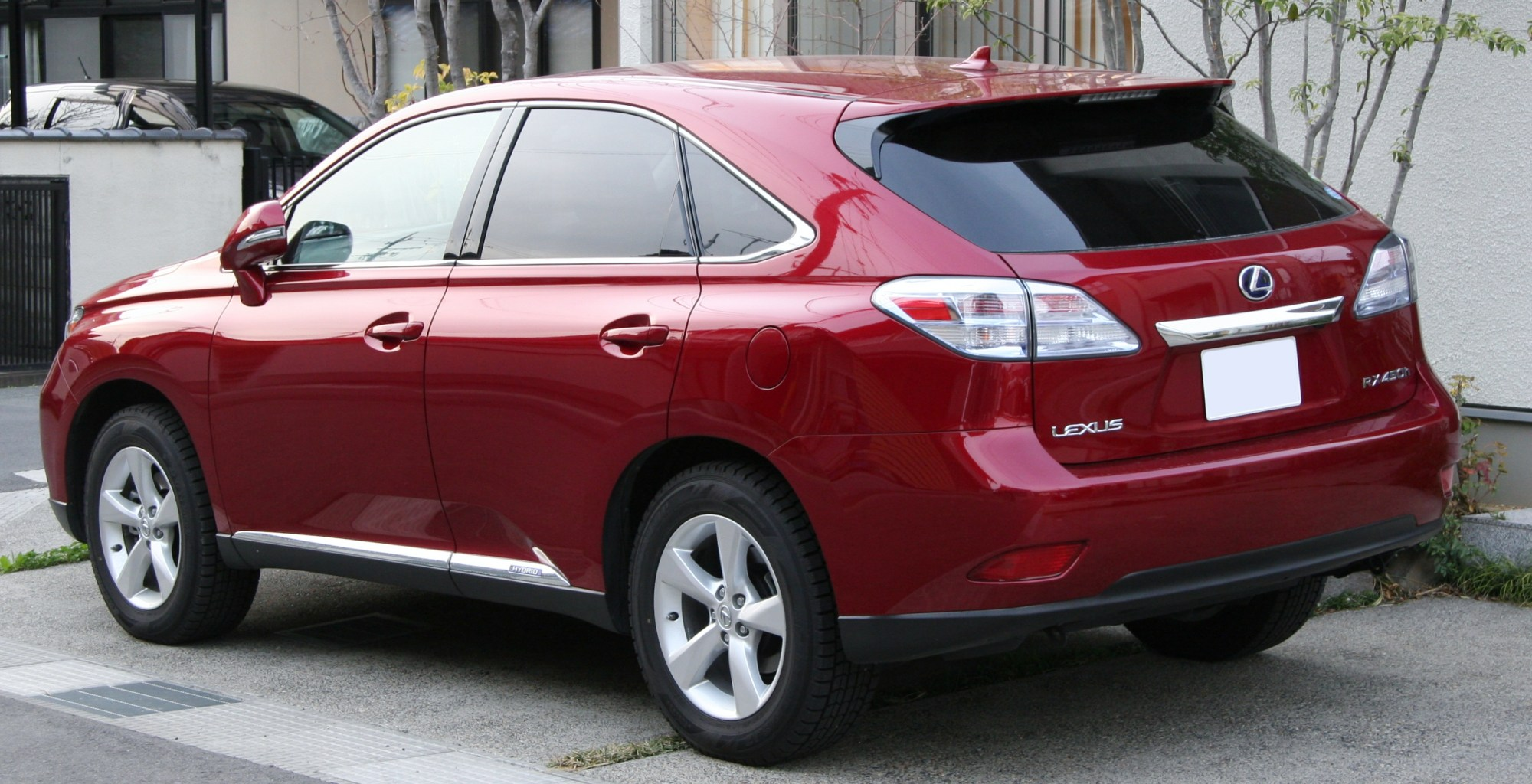 hight resolution of pre facelift lexus rx 450h