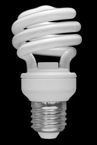 Fluorescent light bulbs: green solution or not really ...