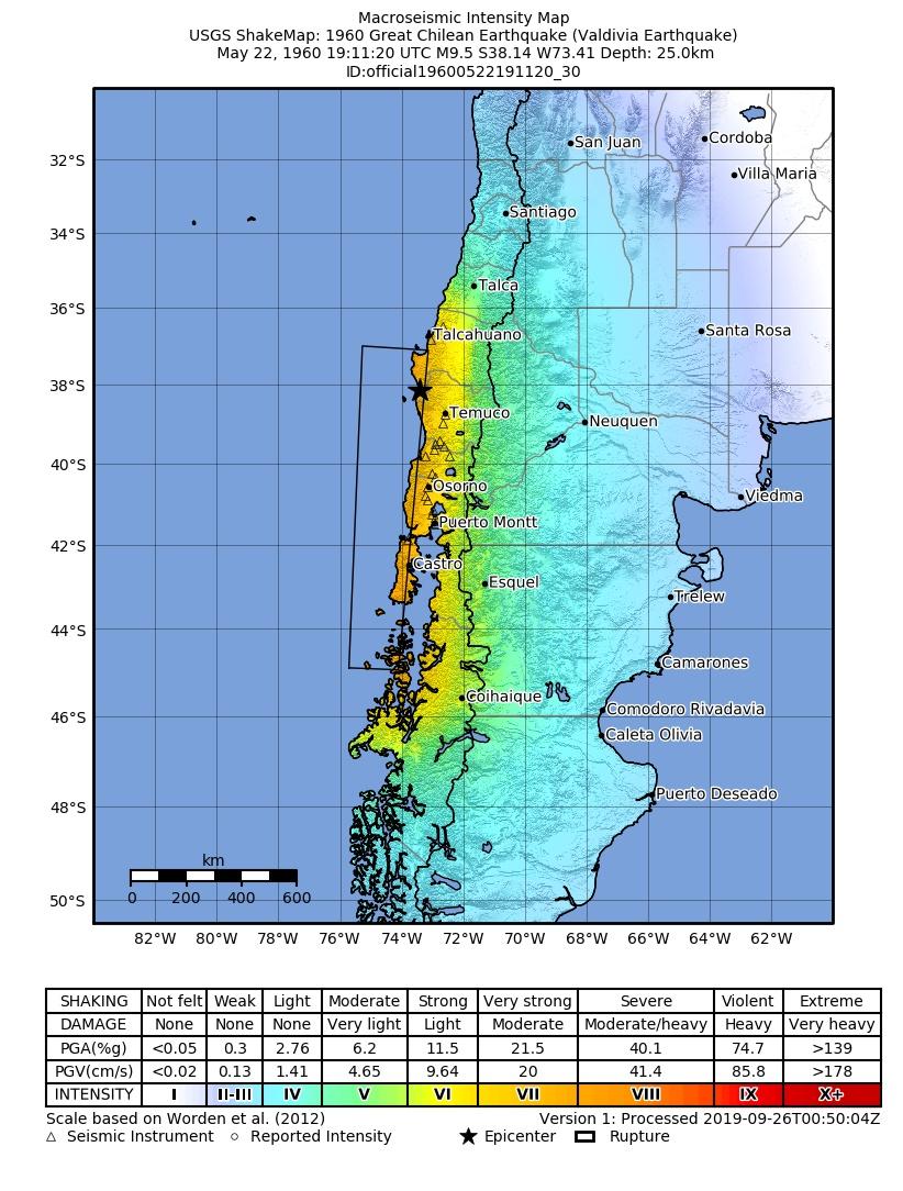 1960 Valdivia earthquake - Wikiwand