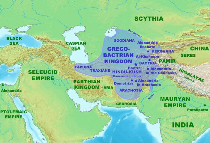 The Greco-Bactrian Kingdom