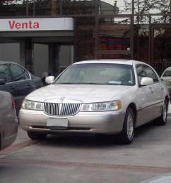 file lincoln town car signature series 1999 13994207527 jpg [ 1280 x 960 Pixel ]