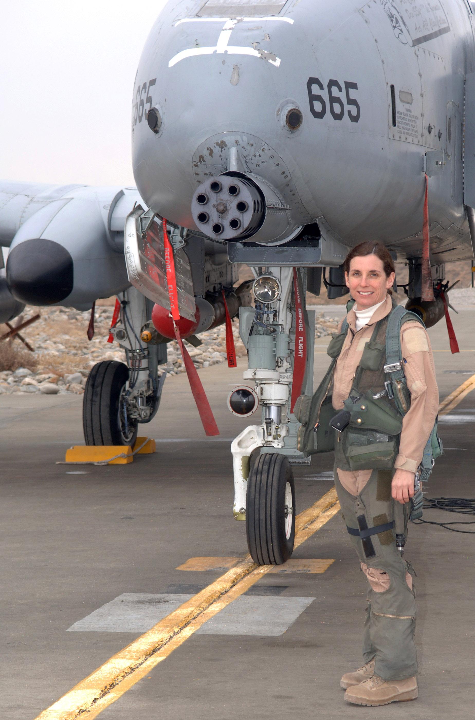 English: Col. Martha McSally, USAF