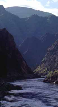 English: Salmon River Mountains, ID
