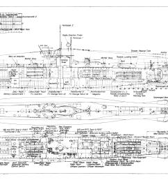 type viib german u boat diagram [ 6238 x 2750 Pixel ]
