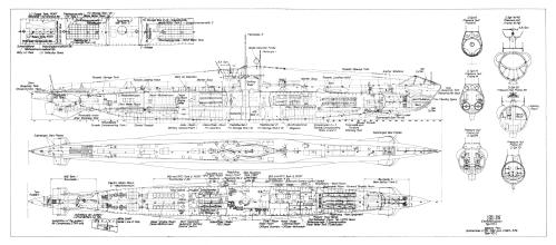 small resolution of type viib german u boat diagram