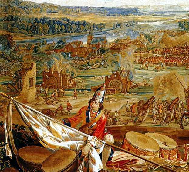 Fișier:Battle of Blenheim Tapestry.jpg