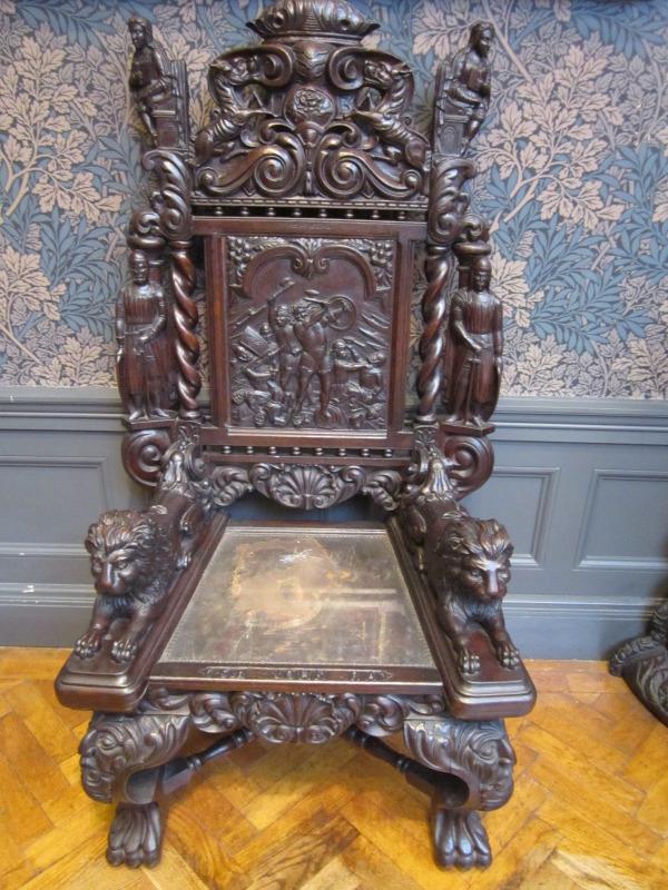 FileCarved wooden chair Williamson Art Galleryjpg