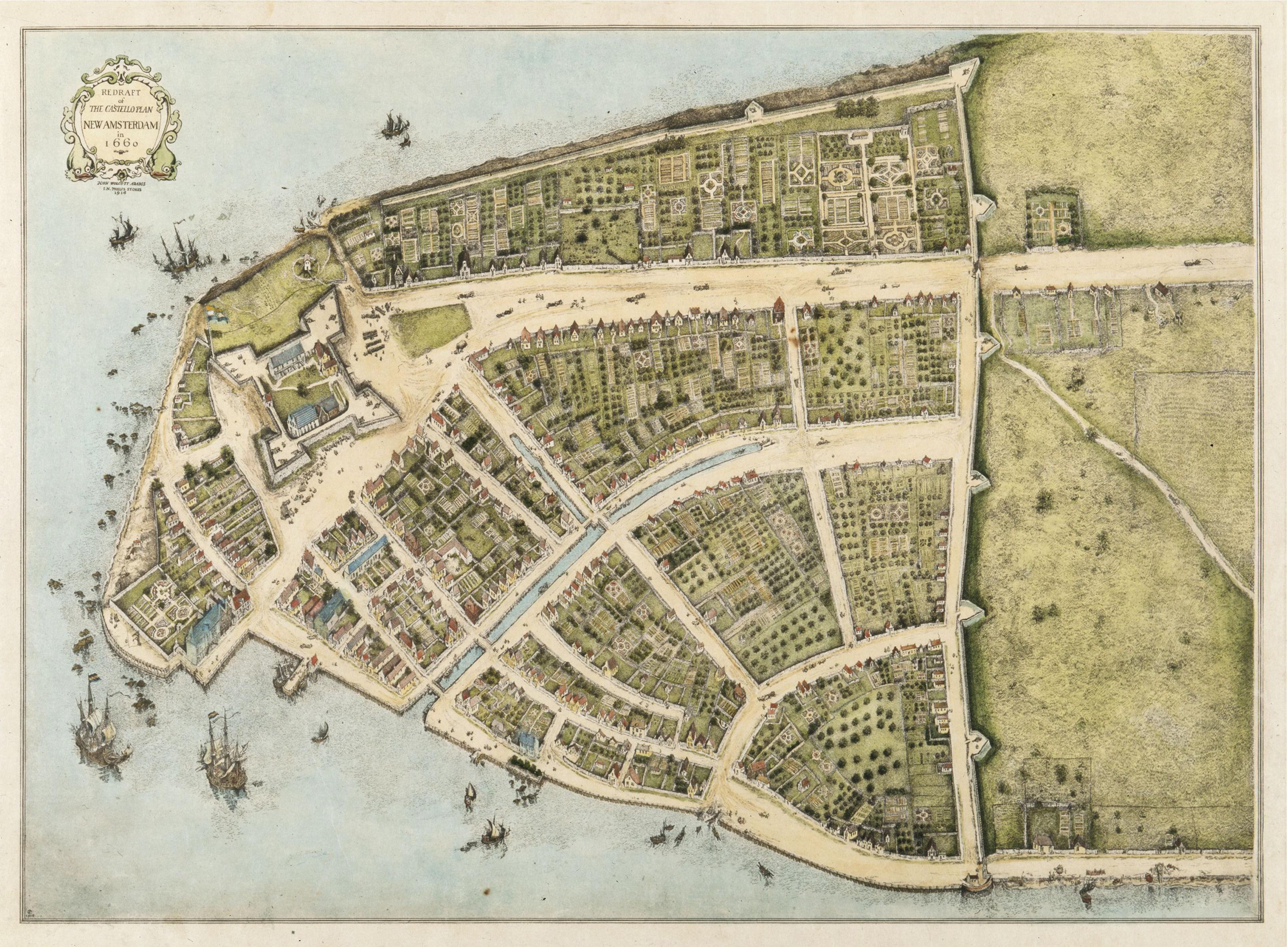 Castelloplan 1660