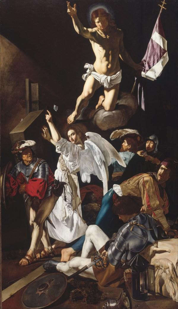 File Francesco Buoneri Called Cecco Del Caravaggio - Resurrection Google Art