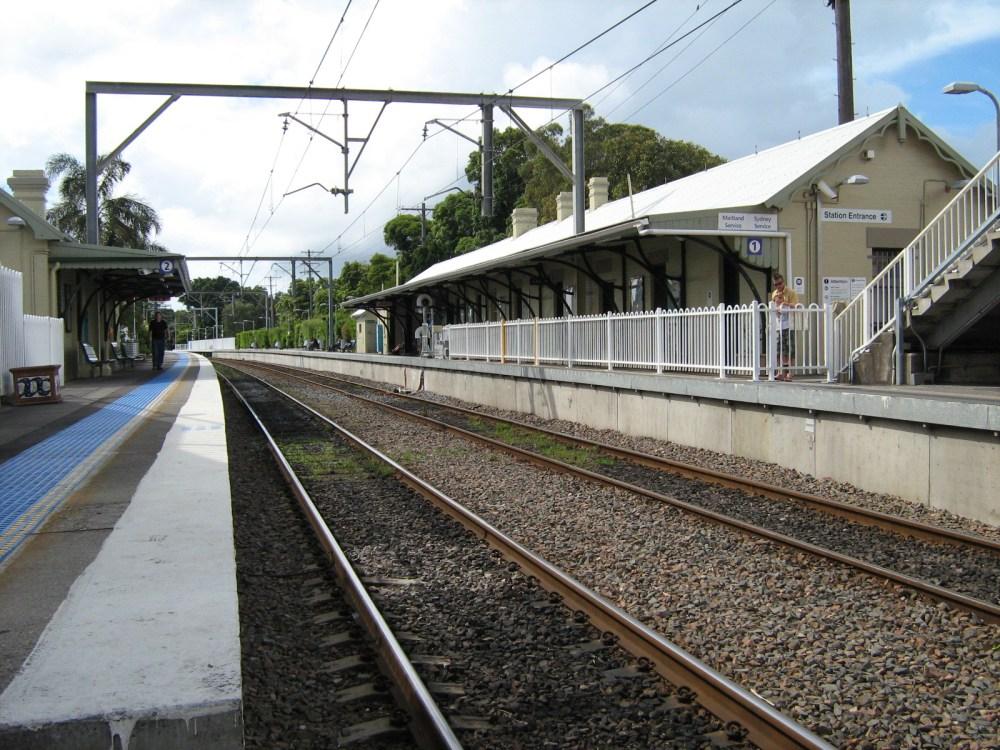 medium resolution of hamilton railway station new south wales