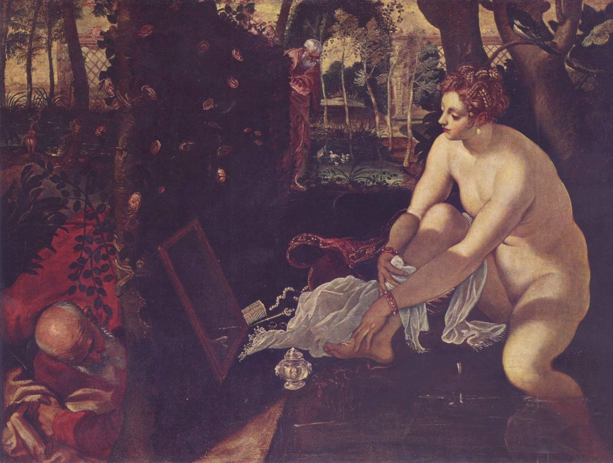 Susanna e i vecchioni - Tintoretto 1554 c.a.